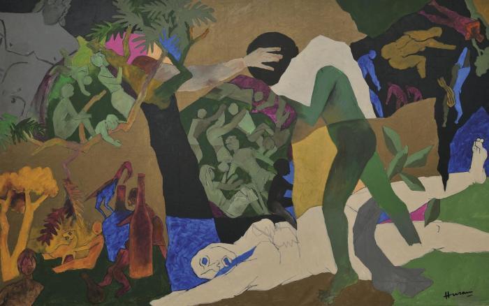 Maqbool Fida Husain-Environment-1997