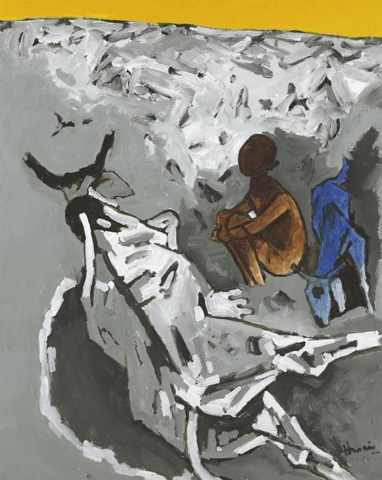 Maqbool Fida Husain-Untitled-1987
