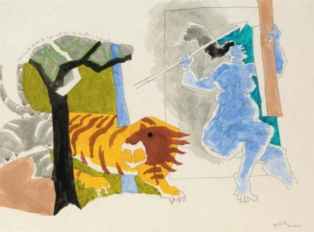 Maqbool Fida Husain-Untitled-1983