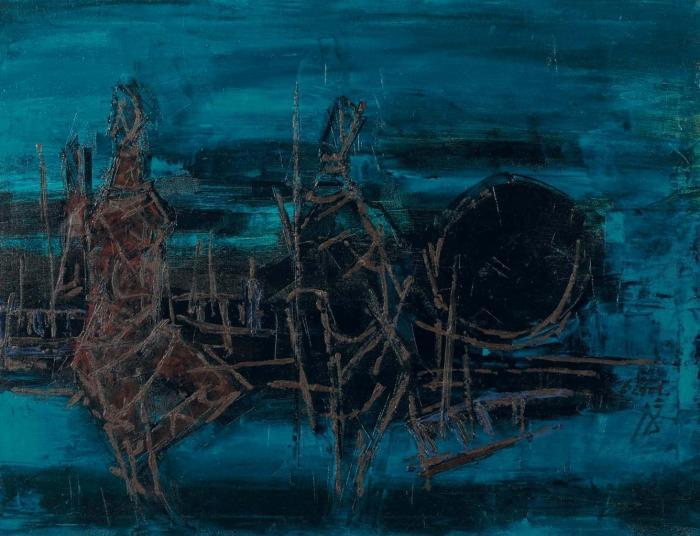 Maqbool Fida Husain-Untitled-