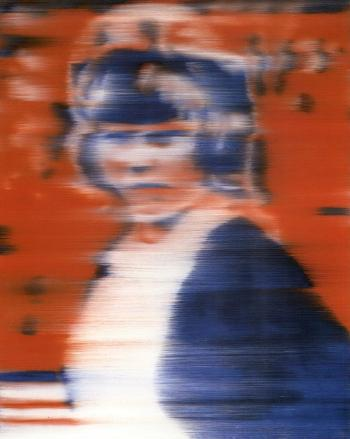 Gerhard Richter-Junge Frau (Bunt) / Young Woman (Coloured)-1965