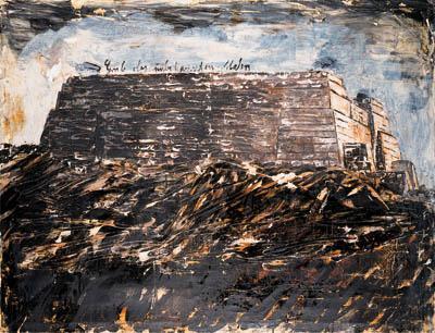 Anselm Kiefer-Grab des unbekannten Malers-1982