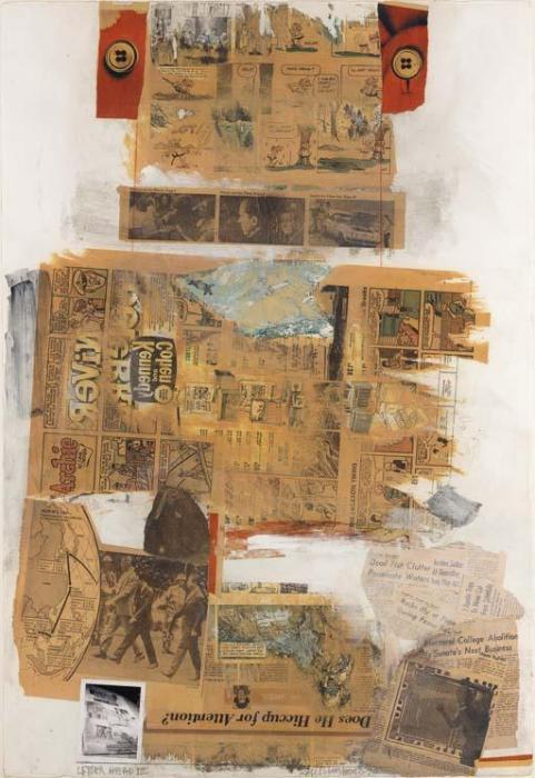 Robert Rauschenberg-Robert Rauschenberg - Letter Head III-1970