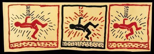 Keith Haring-Keith Haring - Untitled-1980