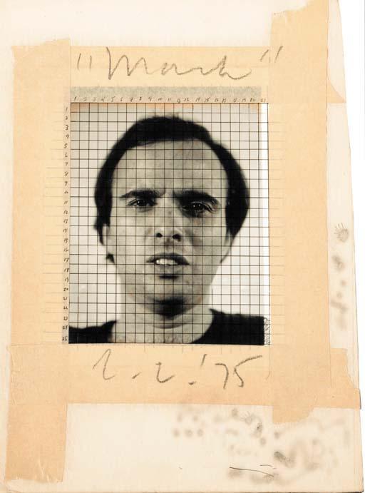 Chuck Close-Mark-1975