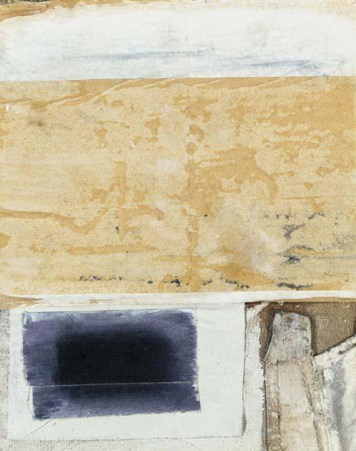 Robert Rauschenberg-Robert Rauschenberg - Untitled-1957