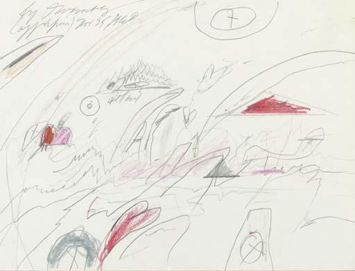 Cy Twombly-Off Africa-1960