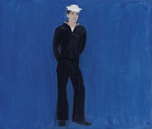 Alex Katz-Sephronius-1961