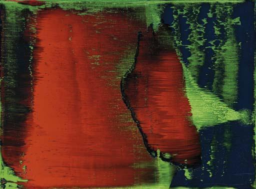 Gerhard Richter-Grun-Blau-Rot (Green-Blue-Red)-1993