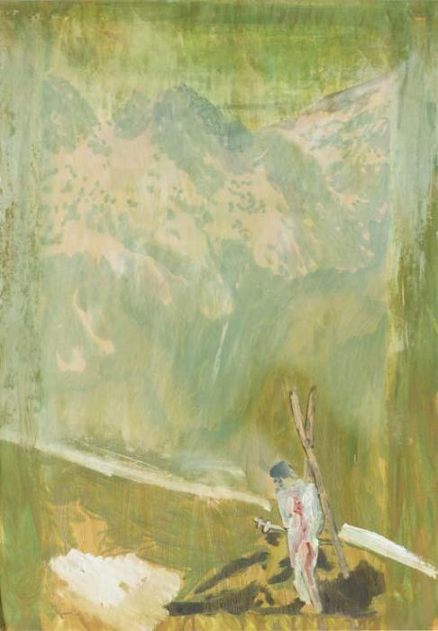 Peter Doig-Skier / Untitled-1998