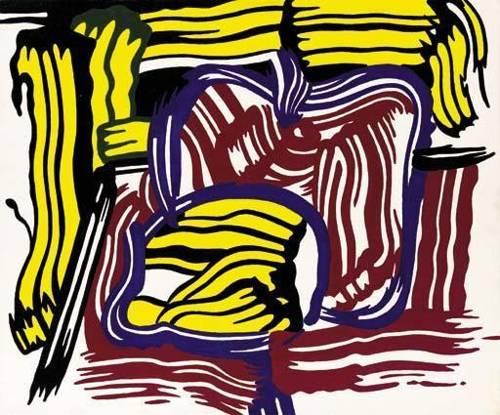 Roy Lichtenstein-Lemon and Apple-1981