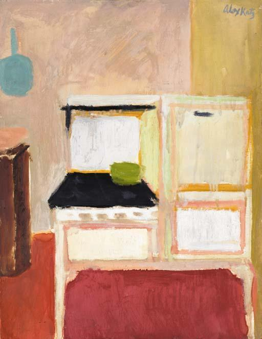 Alex Katz-Interior-1951