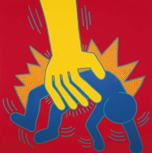 Keith Haring-Keith Haring - Untitled, Jun.3 1984-1984