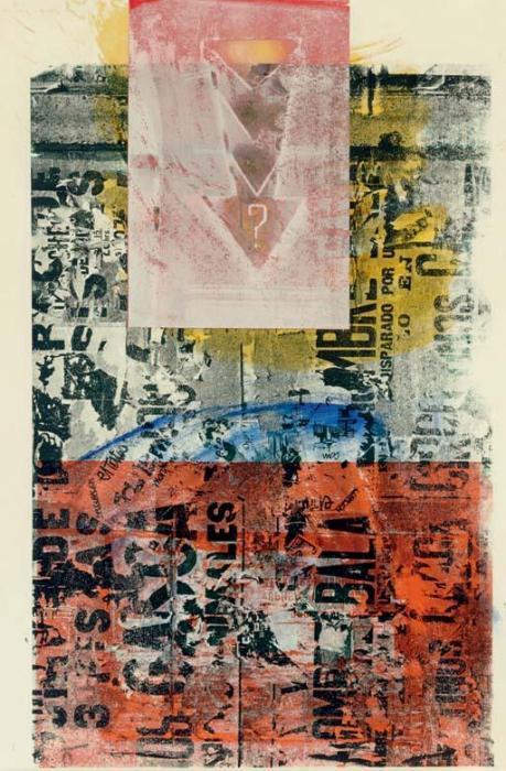 Robert Rauschenberg-Robert Rauschenberg - Bilingual Bubble-1990