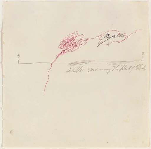 Cy Twombly-Study for Achilles mourning the Death of Patroclus-1962