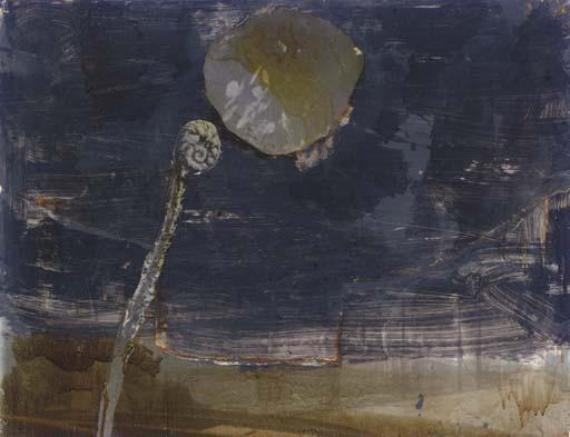 Anselm Kiefer-Aaron's Rod turning into a Snake-1984
