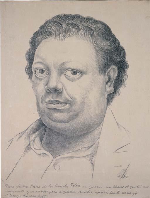 Diego Rivera-Autorretrato-1949
