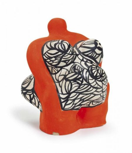 Niki de Saint Phalle-Orange Nana-1972