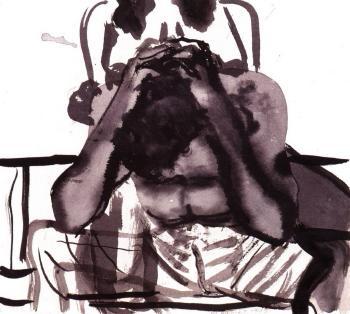 Marlene Dumas-Troubled Man-1993