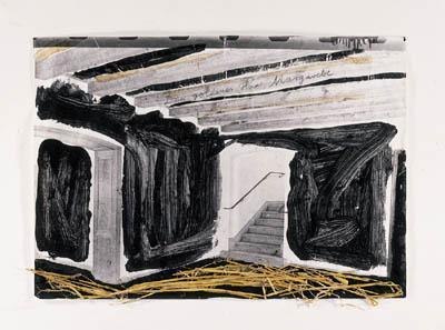 Anselm Kiefer-Dien Goldness Haar, Margarete-1982
