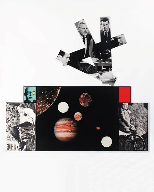 John Baldessari-Planets (Chairs, Observer, White Paper)-1987