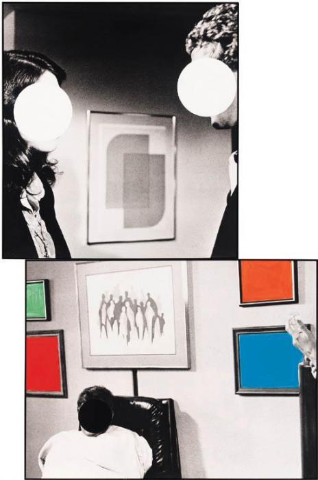 John Baldessari-With Gloss Contradictions, Argument and Decent-1989