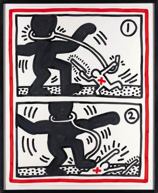 Keith Haring-Keith Haring - Free South Africa-1984