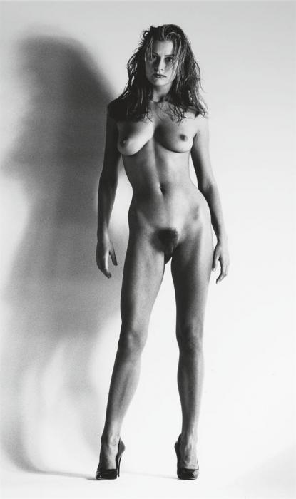 Helmut Newton-Big Nude XII: Camilla (1993)-1993