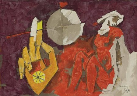 Maqbool Fida Husain-Untitled-1969