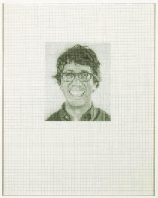 Chuck Close-Bob F. / 2288-1994
