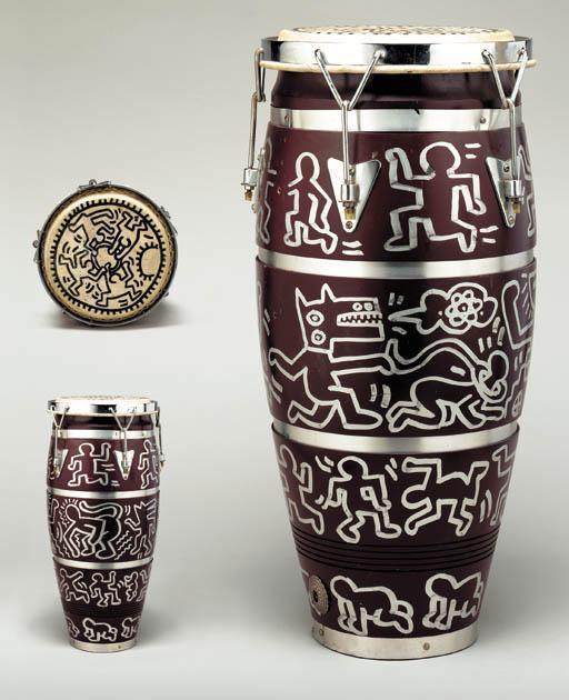 Keith Haring-Keith Haring - Untitled, Bongo-1983