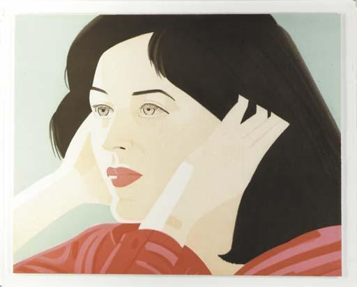 Alex Katz-Joan (Walker 44)-1986