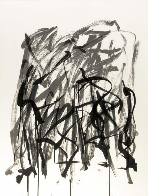 Joan Mitchell-Brush, State I, from the Bedford Series-1981