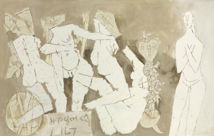 Maqbool Fida Husain-Untitled-1971