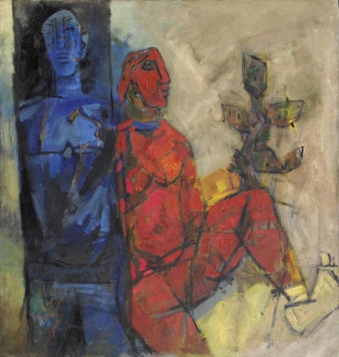 Maqbool Fida Husain-Untitled-1968