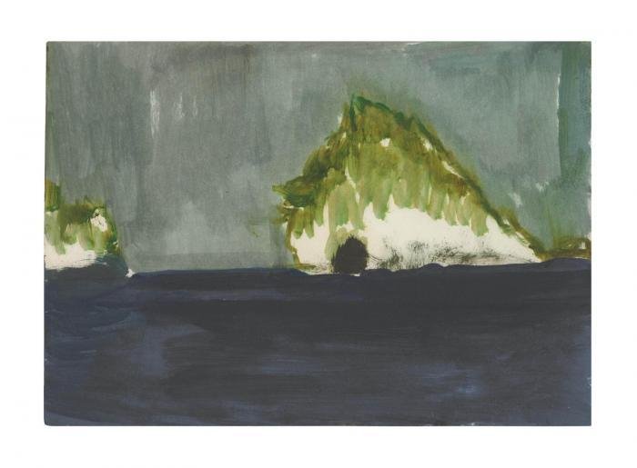Peter Doig-Island with Cave (Paragon)-2003