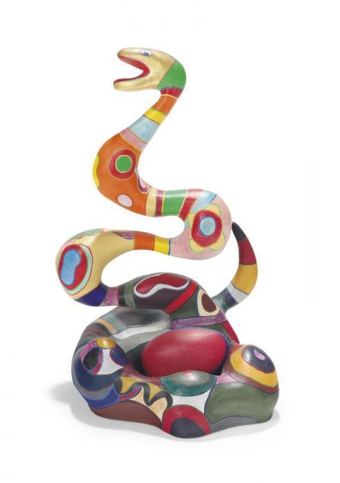 Niki de Saint Phalle-Serpent and Egg-1982