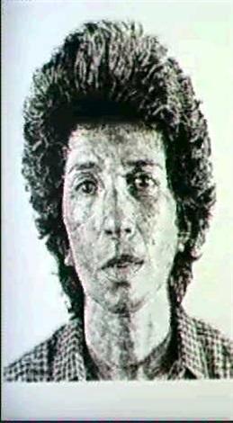 Chuck Close-Phyllis-1981