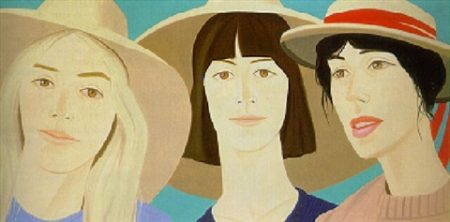 Alex Katz-Luisa, Dana an Joan-1979