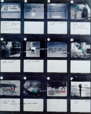 John Baldessari-Untitled (Storyboard B)-1974