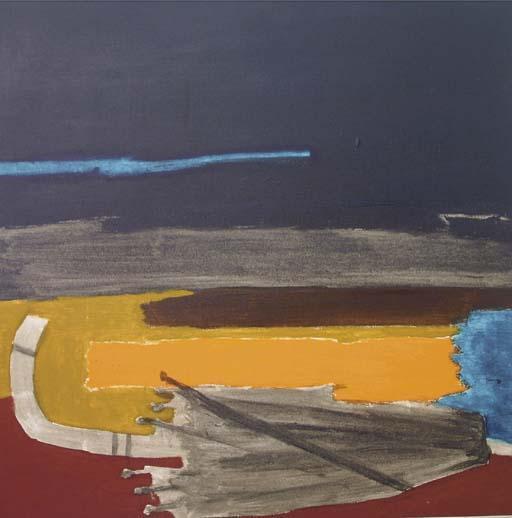 Maqbool Fida Husain-Untitled (Umbrella)-1978