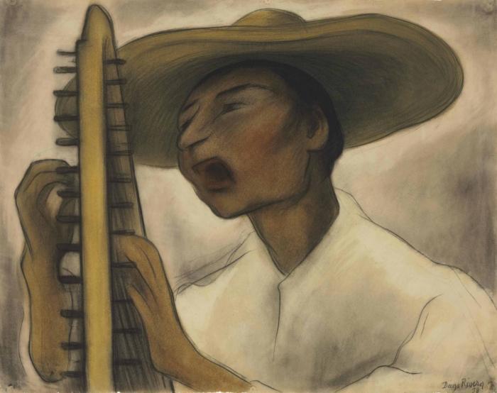 Diego Rivera-Harp Player-1938