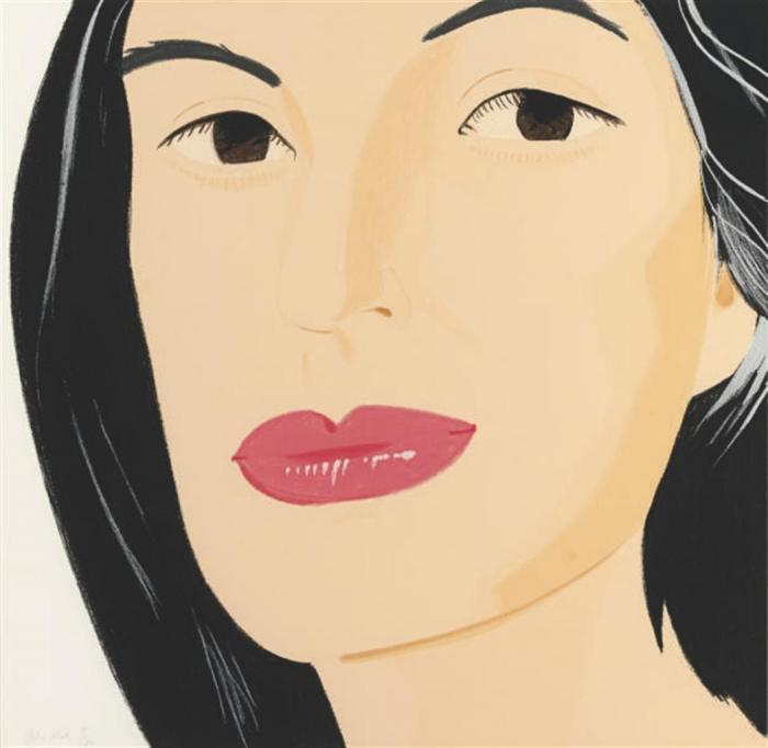 Alex Katz-Ada / Ada II / Portrait of Ada-1994