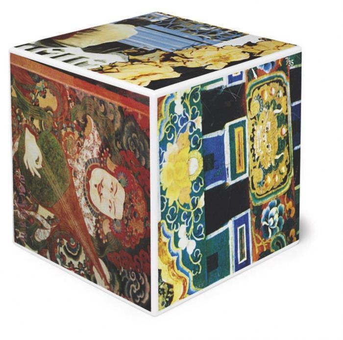 Robert Rauschenberg-Robert Rauschenberg - Tibetan Keys (Cube) (From Tibetan Keys And Locks)-1986