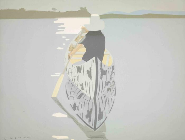 Alex Katz-Good Afternoon (Maravell 69)-1974