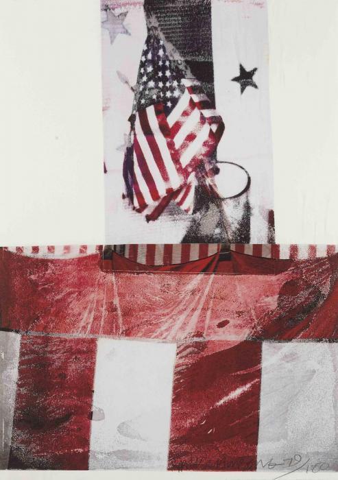 Robert Rauschenberg-Robert Rauschenberg - Edward Kennedy Campaign-1994