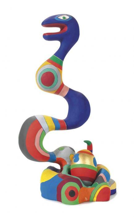 Niki de Saint Phalle-Yin and Yang-1982