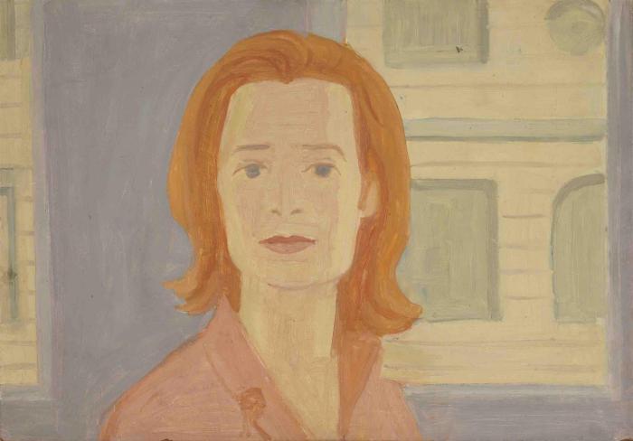 Alex Katz-Portrait of Sylvia Stone-1965