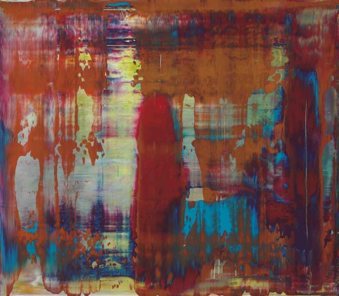 Gerhard Richter-Abstraktes Bild 842-4 (Abstract Painting 842-4)-1997