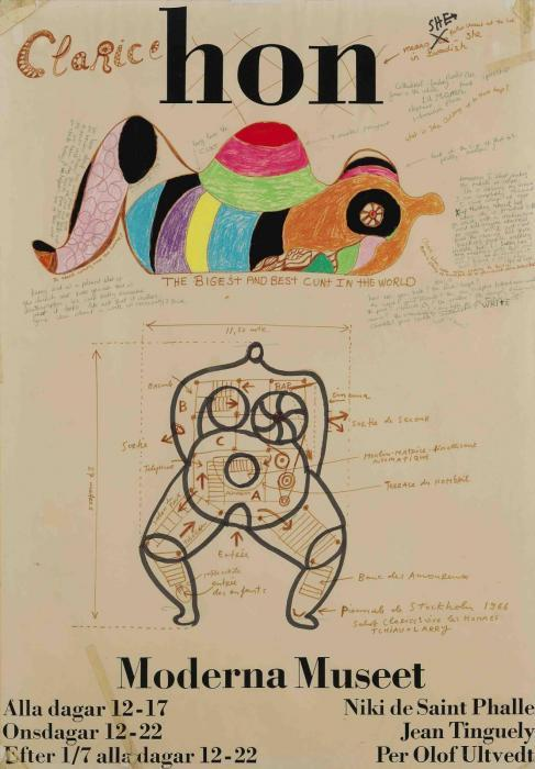 Niki de Saint Phalle-Untitled-1966
